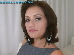 Makalie has a fresh company and is looking for a very peculiar recent employee to demo her product in womens homes. Ball Cream Facial Solutions sends out guys to get blowjobs and dump large loads of cum on womens faces then feed 'em the cum. My dream job. The interview consists of an outstanding oral-service and snatch fuck, followed by a cum facial. I love this job. I hope I get it.