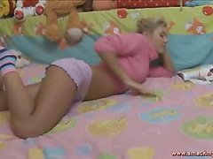 Olya sits in daybed in a pink sweater and pages throughout a book whilst this hottie waits for her guy to show up. SheтАЩs horny and getting a little despairing for raunchy release. HeтАЩs the solely one that can bring her the joy that hottie seeks! After awaiting too lengthy this pretty teenager pulls her pants off and masturbates, juicing up her fur pie for when this chab shows up. The muscular youthful guy lastly comes into the bedroom and out of saying much this guy plays with her bawdy cleft, generating even more sloppy wetness down there so the two of 'em can truly engage in the bawdy play they dream of. SheтАЩs going to have great legal age teenager sex and that tanned and constricted body looks outrageously sexy throughout. Her tummy is utter perfection! The sweater fetish fans will be delighted to know that that hottie keeps it partially on throughout the set. The last position is her on top riding hard and that hottie looks so great as that hottie really bounces hard.