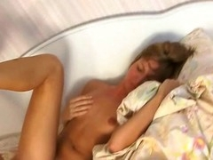 Gorgeous mother i'd like to fuck widens legs wide getting her wet twat fucked