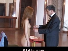 Youthful redhead student Baby Silver appeals to all her natural treasures to make the old chap pass her the last exam. Within admirable oral-stimulation and oldyoung hardcore fucking that babe promotes it with brio. Clever youthful angel!!